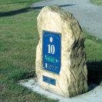 Drayton Park Golf Club sign