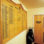 Tiverton Golf Club sign